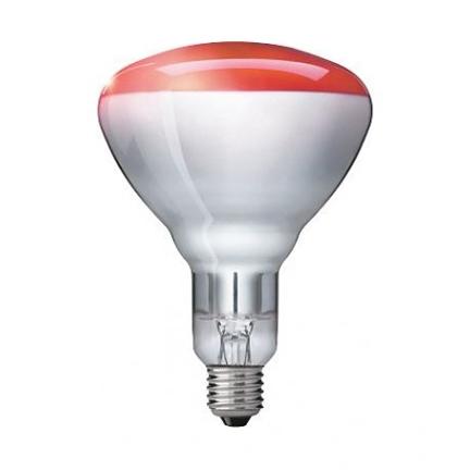Philips Br125ir Red 230v 250v 250w Br125 E27 Ir Incandescent Lamp